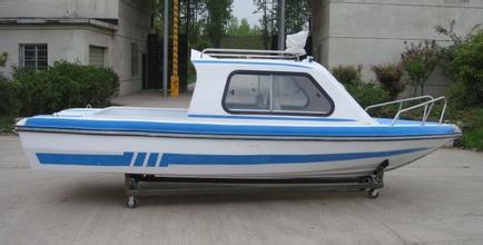 520型半棚快艇